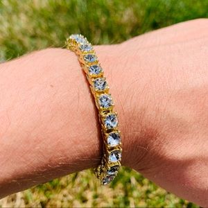 Other - 💎Gold Tennis Bracelet ICED OUT💎